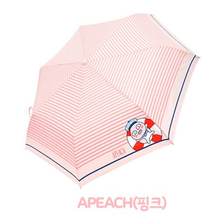 마린 3단우산 IUKTU30026 어피치(핑크)