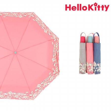 헬로키티 폴라로이드 완전자동우산 HUHKU70017 핑크