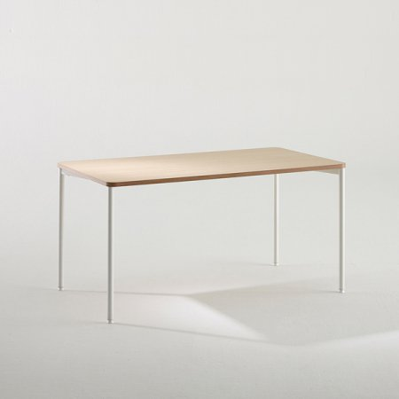일자형 책상 BDB014 (1400X800) 라이트우드:버건디