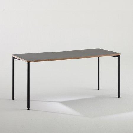 컴퓨터 책상 BDC016 (1600X700) 블랙:버건디