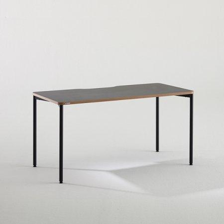 컴퓨터 책상 BDC014 (1400X700) 다크우드:블랙