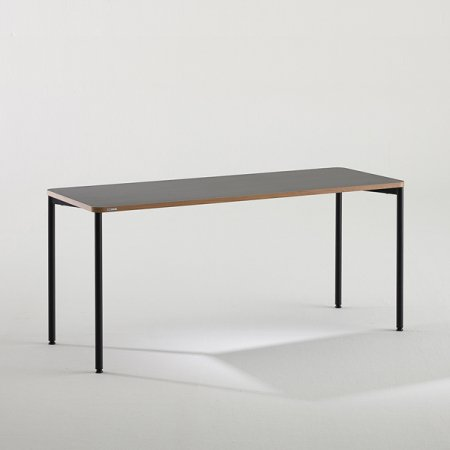 [어메이징 특가]일자형 책상 BDB116 (1600X600) 다크우드:버건디