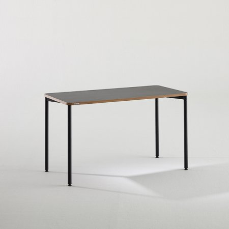 일자형 책상 BDB112 (1200X600) 다크우드:버건디