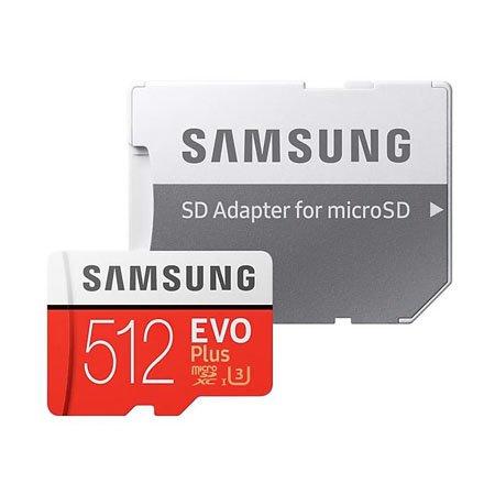 마이크로 SD카드 MicroSDXC EVO PLUS [512GB] [ SD어댑터 포함 ]