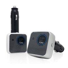카데코 토드 차량용 공기정화기 1042 실버