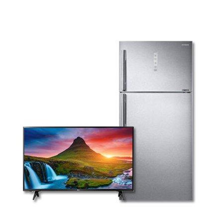 107cm FHD TV 43LK5600BNA+일반냉장고 RT62K7045SL [615L]