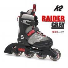 K2 정품 19년 레이더그레이 5단계조절 아동용 인라인 _레이더그레이 L 220mm-255mm