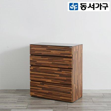 *취향저격 철제 오픈 클로젯  800 4단 디바이더 서랍장 _그레이
