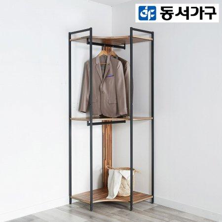*취향저격 철제 오픈 클로젯  조립식 오픈형 600 코너장 _그레이