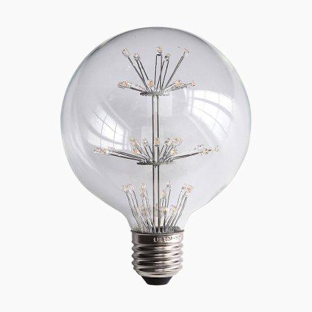 LED 눈꽃 전구 G95 2W
