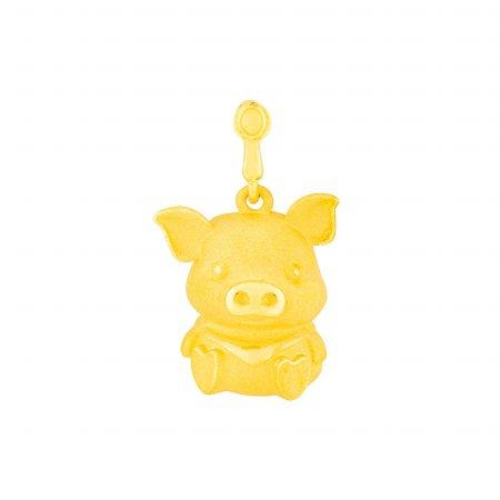 한국금거래소 황금 돼지 펜던트 3.75g
