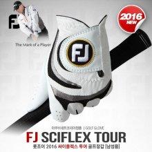 풋조이 SCIFLEX TOUR(싸이플렉스 투어) 반양피 골프장갑 [68831] [남성용] 골프장갑:22호