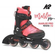 K2 정품 19년 마리프로코랄 5단계조절 아동용 인라인 _마리프로코랄 L 220mm-255mm