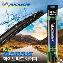 미쉐린 (MICHELIN) RADIUS 라디우스 하이브리드 600mm 와이퍼 MRH 600mm