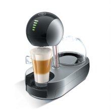 캡슐형 커피머신 스텔리아 (다크 실버) STELIA-SILVER [터치방식 / 1L / 15bar 고압력추출]