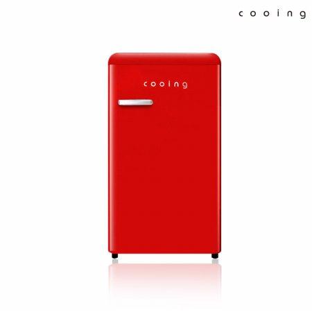 92L 유럽형 스타일리쉬 냉장고 (레드) / REF-S92R
