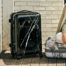 헤이즈 패션스피너 마르퀴나 블랙마블 26형 수화물용 캐리어 여행가방