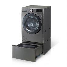 F21VDTM 트윈워시 [세탁용량:21KG+4KG/5방향터보샷/6모션손빨래/트루스팀/인버터DD모터/모던스테인리스]