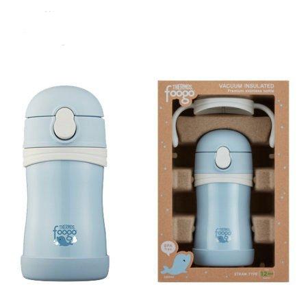 프리미엄 푸고 TKFB-280S 빨대컵 손잡이 -블루