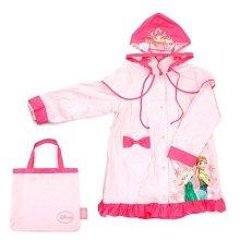어린이 우비FR0068-겨울왕국쟈스민레인코트(W03CC95) 핑크-M