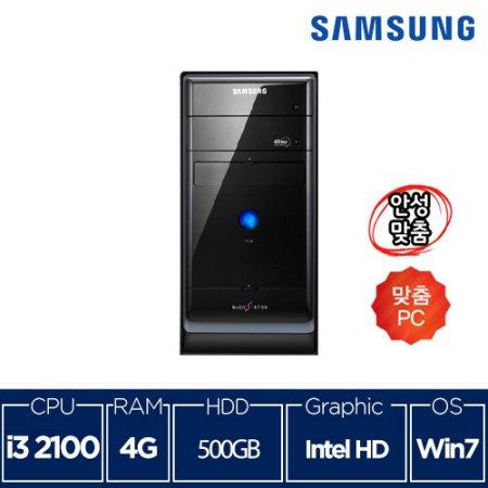 [삼성] 블랙에디션 컴퓨터 DB-P400 코어i3/4G/500G/Win7 - 리퍼