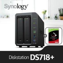 [에이블] DS718+ [시게이트 아이언울프 4TBx1]/NAS전용HDD
