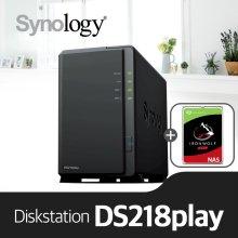 [에이블] DS218Play[시게이트 아이언울프 4TBx1]/NAS전용HDD