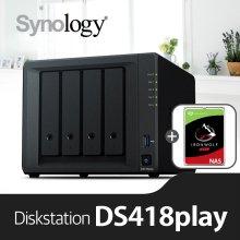[에이블]DS418Play[시게이트 아이언울프 4TBx2]/NAS전용HDD