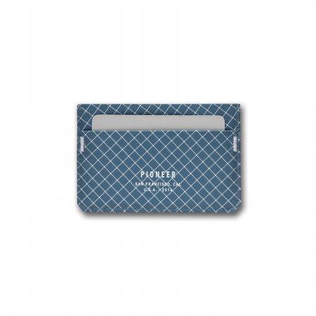 MOLECULE CARD WALLET 몰리큘 카드 월렛 - 블루