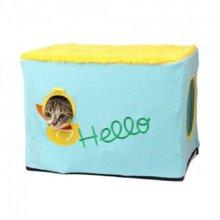 고양이집 프레임하우스 오리(1B24BB)