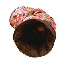 쏘아베 고양이 터널 1구 (100cm)  브라운(24A358)