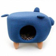 펫모닝 블루 돼지 하우스(14FECB)