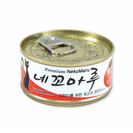 네꼬마루 참치 치킨 캔 80g (2AC46E)