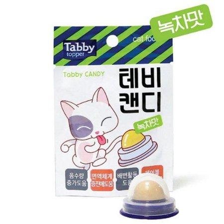 테비 캔디 녹차맛 고양이 간식(3371A8)