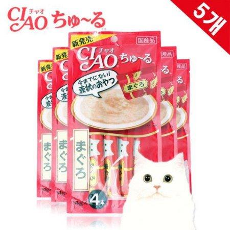 간식 캔 챠오츄르 참치 14g (4입 x5) 1EA(147FCE)