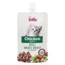 더캣츠 고양이 캣 습식 간식 빅 베로베로 닭고기 85g (29511A)