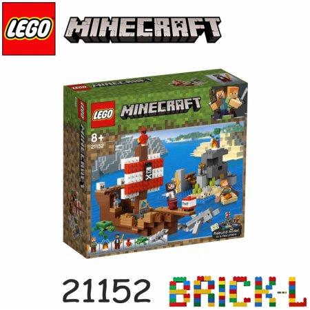 레고 21152 마인크래프트 해적선 모험 BR