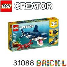 레고 31088 크리에이터 바닷속 상어 BR