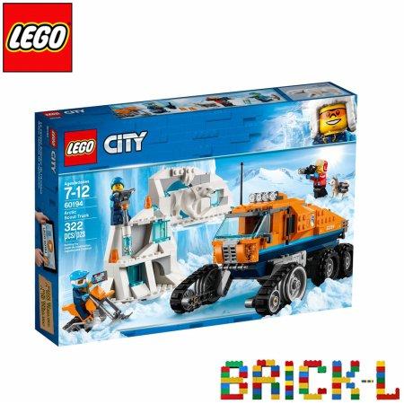 레고 60194 시티 북극 정찰대 트럭 BR