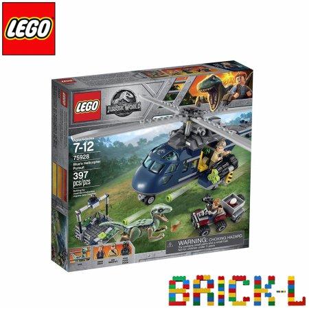 레고 75928 쥬라기월드 블루의 헬리콥터 추격전 BR