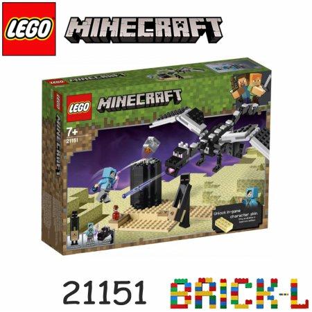 레고 21151 마인크래프트 엔드의 결투 BR