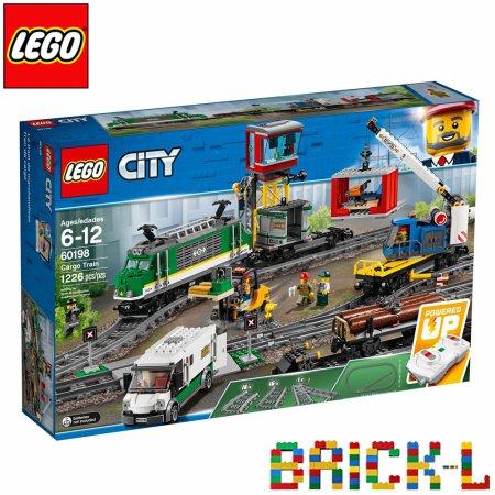 레고 60198 시티 화물 열차 BR