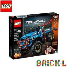 [L.POINT 3천점 증정]레고 42070 테크닉 6x6 견인트럭 BR