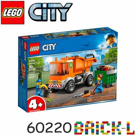[L.POINT 1천점 증정]레고 60220 시티 청소 트럭 BR