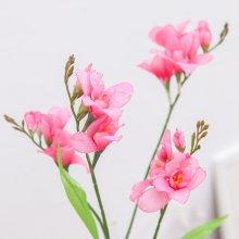 촉촉한후리지아가지o 65cm (조화) FAIAFT 핑크