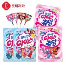 롤리팝 막대사탕15개입X2봉+츄잉X4봉 (총6봉)