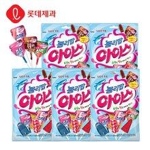 롤리팝아이스 막대사탕 165g(15개입)X5개