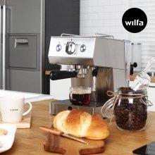 [S][윌파] 반자동 에스프레소 커피머신 SE503 (홈카페/스팀기능/예열판)