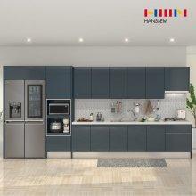 EURO9000 프라인디고 (키큰장+냉장고장형/ㅡ자/3.3m~3.8m)