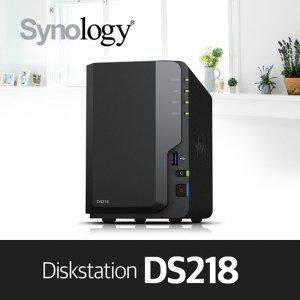 [2차/50대][에이블]DS218 [케이스] 2bay NAS 하드미포함